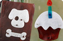 Edible Dog Cards