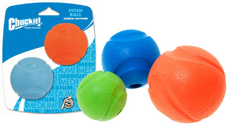Chuckit Fetch Ball Hollow Rubber Dog Ball