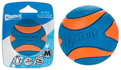 Chuckit Ultra Squeaker Ball Squeaky Dog Ball