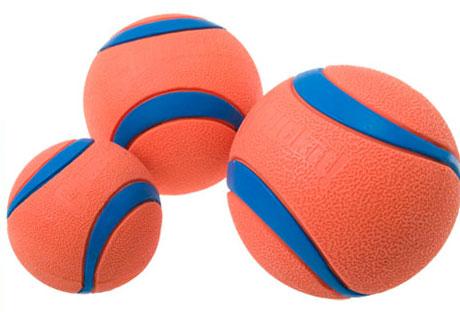 Types of toys Chuckit-ultra-balls