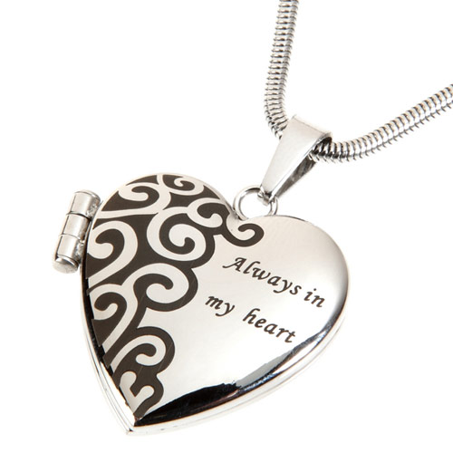 Pet Photo Locket Necklace Always In My Heart