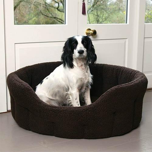 Travel Dog Bed >> Soft Warm Sherpa Fleece Dog Bed | Thermal | UK Made