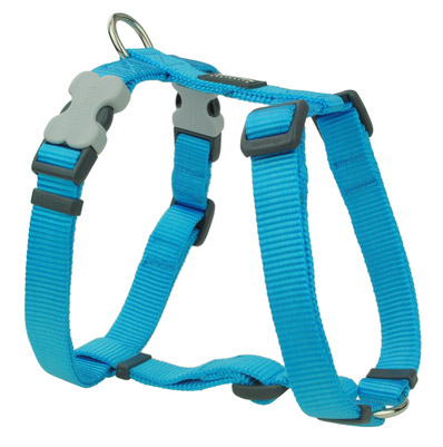 Vibrant Turquoise Blue Dog Harness By Red Dingo