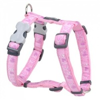 Red Dingo Dog Harness Breezy Love Pink