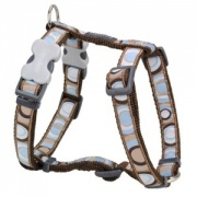 Red Dingo Dog Harness Circadelic Brown