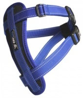 EzyDog Harness Blue