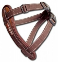 EzyDog Harness Chocolate