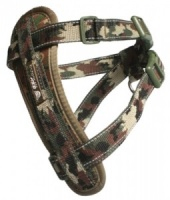 EzyDog Harness Green Camouflage