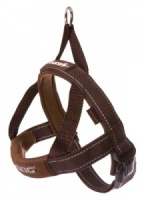 EzyDog Harness Quick Fit Chocolate