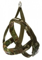 EzyDog Harness Quick Fit Green Camouflage