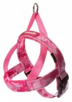 EzyDog Harness Quick Fit Pink Camouflage