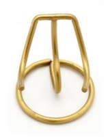 Heart Urn Stand Small Brass