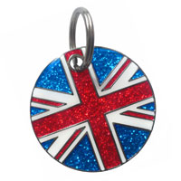 Dog ID Tag by K9 - Union Jack