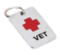 Dog ID Tag by K9 - Vet