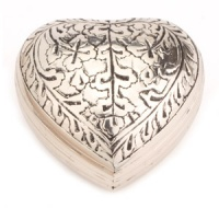Keepsake Urn Banbury Nickel Heart