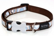 Red Dingo Dog Collar Circadelic Brown