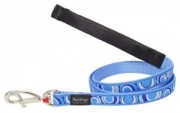 Red Dingo Dog Lead Circadelic Blue