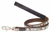 Red Dingo Dog Lead Circadelic Brown