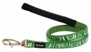 Red Dingo Dog Lead Circadelic Green