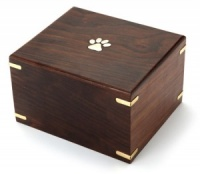 Wooden Pet Urn Whitton