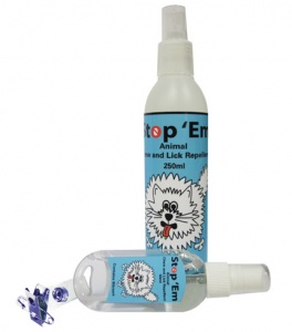 Dog stop chew and lick spray