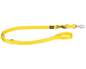 Double-Ended Multipurpose Dog Lead in yellow