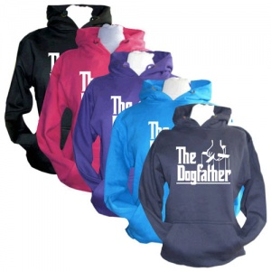 The Dogfather Slogan Hoodie