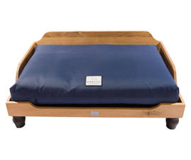 Berkeley wooden dog bed