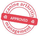 Orthopedic dog bed approved by Canine Arthritis Management