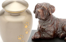 pet memorials and urns