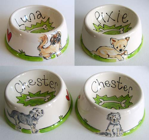 recent dog bowl examples
