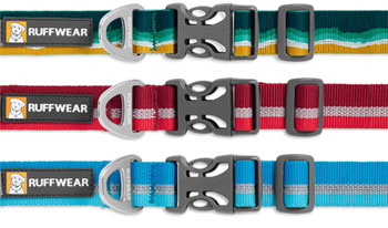 Crag dog collar by Ruffwear