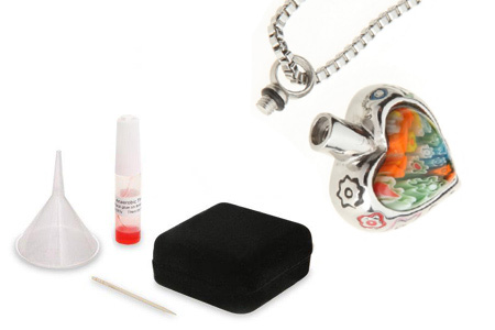 Heart Pet Cremation Jewellery Ashes Urn