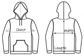 measure for your dog lover hoodie