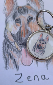 Draw your own dog tag
