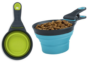 dry dog food scoop and measuring cup