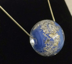 ashes in glass eternity bead