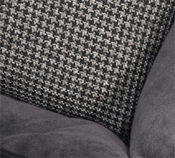Houndstooth Design Lounger Dog Bed