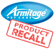 Product Recall Alert - Armitage Flea and Tick Drops