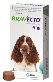 Bravecto flea and tick treatment