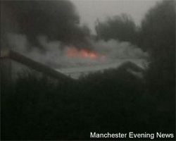 Fire at Manchester Dogs Home