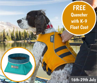 FREE Travel Bowl with every Float Coat