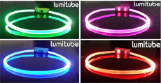 Lumitube LED dog safety tube