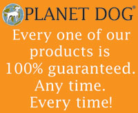 Planet Dog guarantee