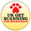 UK get scanning dog microchips