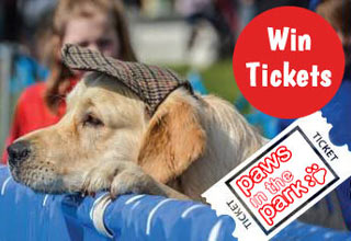 Win tickets to Paws in the Park May 2017