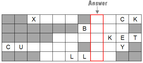 Christmas competition question grid