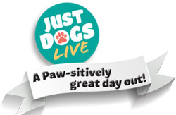 Just Dogs Live logo