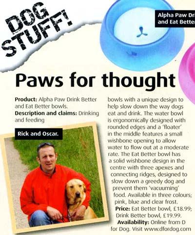 Your Dog Magazine September 2008