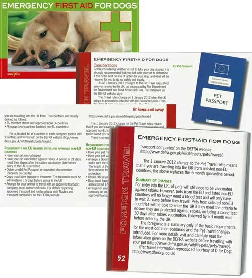 Emergency First Aid For Dogs Book